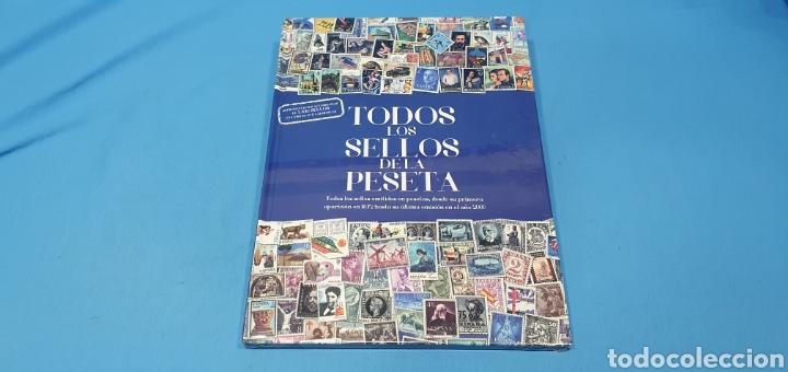 TODOS LOS SELLOS DE LA PESETA - REPRODUCCIONES AUTORIZADAS DE 2340 SELLOS EN LÁMINAS AUTO-ADHESIVAS (Filatelia - Sellos - Reproducciones)