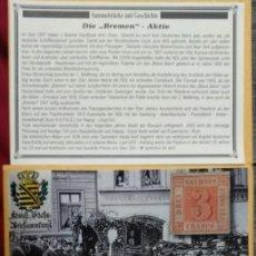 Sellos: COLECCIONABLES CON HISTORIA - EL SACHSEN- DREIR. Lote 252383745