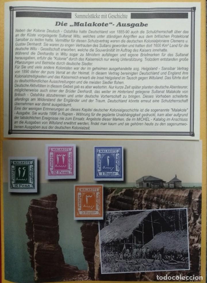COLECCIONABLES CON HISTORIA - LA EDICIÓN MALAKOTE. (Filatelia - Sellos - Reproducciones)
