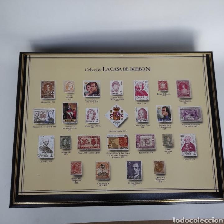 Sellos: Colección La Casa de Borbón replicas sellos en plata maciza bañada en oro - Foto 7 - 264271324