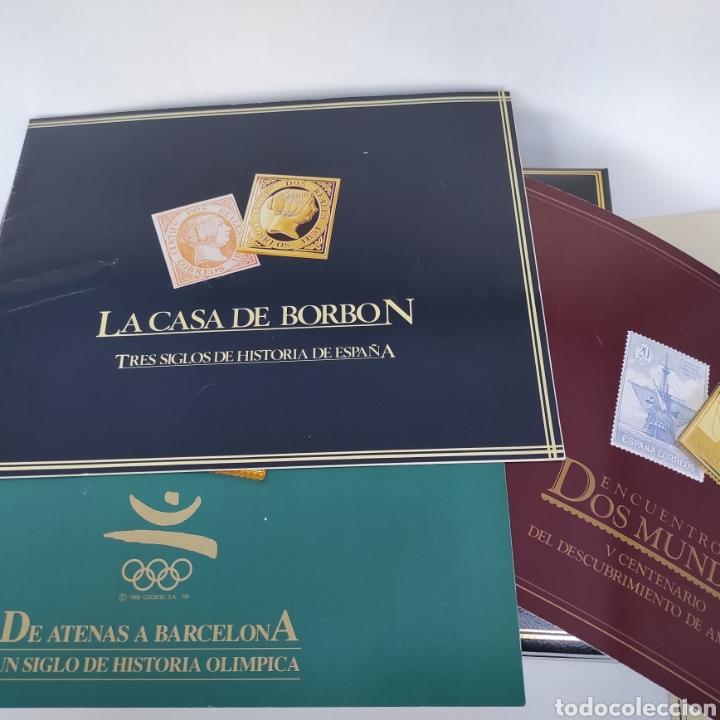 Sellos: Colección La Casa de Borbón replicas sellos en plata maciza bañada en oro - Foto 8 - 264271324