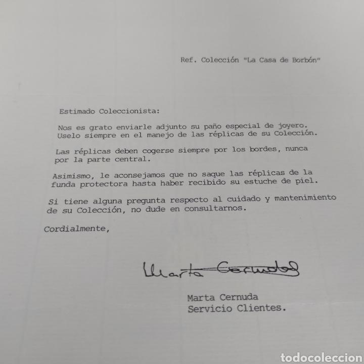 Sellos: Colección La Casa de Borbón replicas sellos en plata maciza bañada en oro - Foto 9 - 264271324