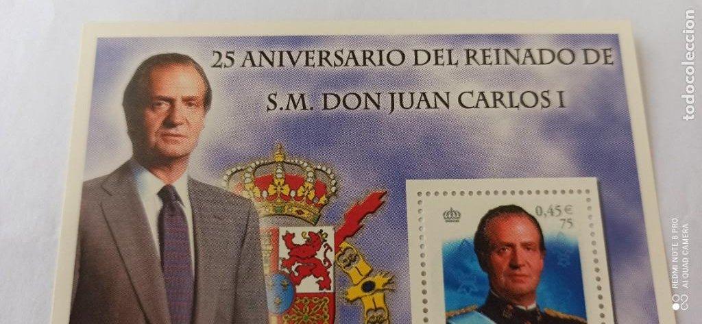 Sellos: SELLO SIN USO 25 ANIVERSARIO DE REINADO DE A.M.REY JUAN CARLOS 2001 - Foto 3 - 265501559