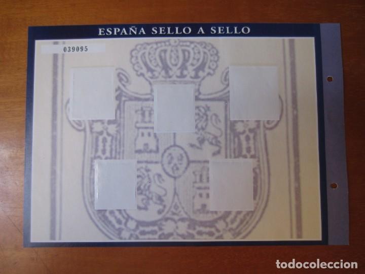 Sellos: Lamina Hoja H-2 (Isabel II) de la Colección España Sello a Sello de El Pais y BBVA - Foto 2 - 267061409