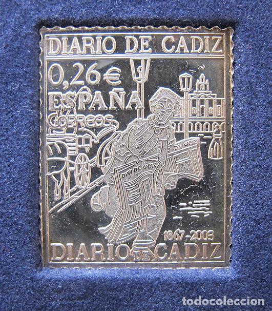 Sellos: SERIE DE PLATA DIARIO DE CADIZ LA PROVINCIA SELLO A SELLO - Foto 5 - 267481559