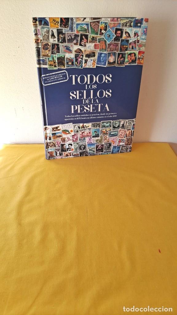 TODOS LOS SELLOS DE LA PESETA, REPRODUCCIONES AUTORIZADAS DE 2.340 SELLOS - 2015 (Filatelia - Sellos - Reproducciones)