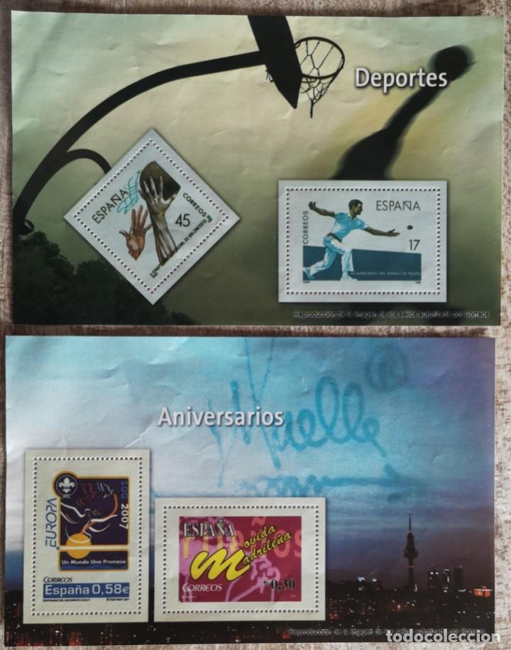 LOS SELLOS, BILLETES E ICONOS DE LA DEMOCRACIA EL MUNDO 2 REPRODUCCIONES VER FOTO (Filatelia - Sellos - Reproducciones)