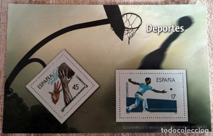 Sellos: LOS SELLOS, BILLETES E ICONOS DE LA DEMOCRACIA EL MUNDO 2 REPRODUCCIONES VER FOTO - Foto 3 - 272988413