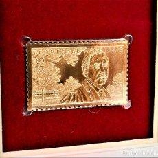 Francobolli: SELLO DE ORO 22.KT. TENNESSEE WILLIAMS AMERICAN 1995 - 25 X 40.MM. Lote 274216988