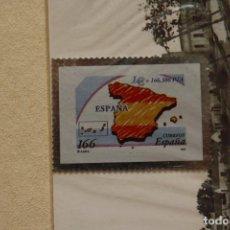 Sellos: SELLO TROQUELADO METAL HUECOGRABADO: PAISES EURO ESPAÑA – NUEVO – FICHA TECNICA HISTORIA -. Lote 276316378