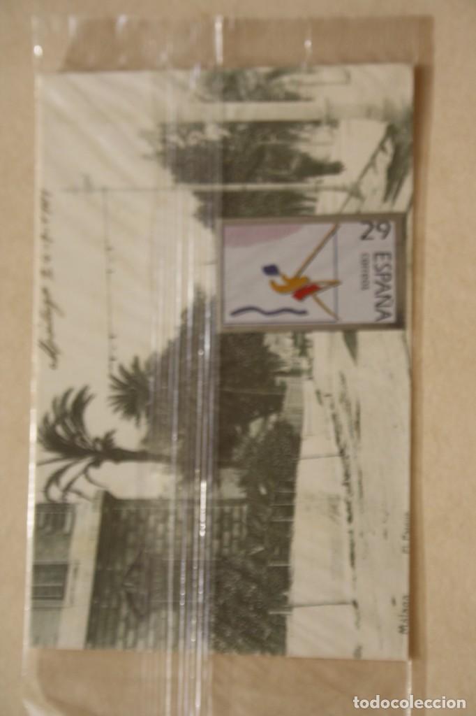 Sellos: SELLO TROQUELADO METAL HUECOGRABADO: PICTOGRAMA VELA COI – NUEVO – FICHA TECNICA HISTORIA - POSTAL - Foto 2 - 276532178