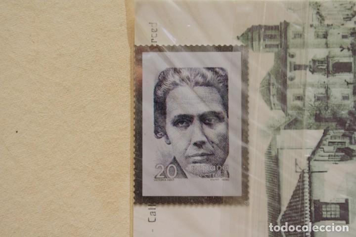 SELLO TROQUELADO METAL HUECOGRABADO: VICTORIA KENT – NUEVO – FICHA TECNICA HISTORIA - POSTAL (Filatelia - Sellos - Reproducciones)