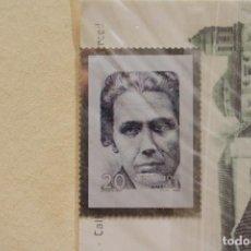 Sellos: SELLO TROQUELADO METAL HUECOGRABADO: VICTORIA KENT – NUEVO – FICHA TECNICA HISTORIA - POSTAL. Lote 276533933