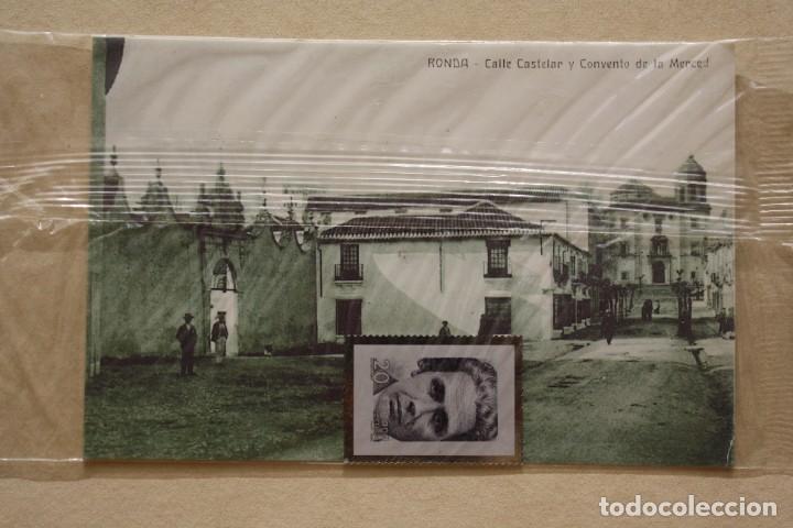 Sellos: SELLO TROQUELADO METAL HUECOGRABADO: VICTORIA KENT – NUEVO – FICHA TECNICA HISTORIA - POSTAL - Foto 2 - 276533933