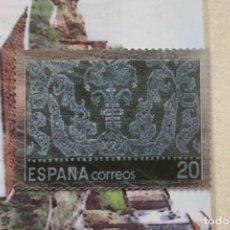 Sellos: SELLO TROQUELADO METAL HUECOGRABADO: ENCAJES ANDALUCIA – NUEVO – FICHA TECNICA HISTORIA POSTAL. Lote 276740393