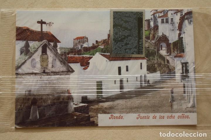 Sellos: SELLO TROQUELADO METAL HUECOGRABADO: ENCAJES ANDALUCIA – NUEVO – FICHA TECNICA HISTORIA POSTAL - Foto 2 - 276740393