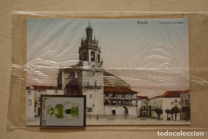 Sellos: SELLO TROQUELADO METAL HUECOGRABADO: ARTESANIA ESPAÑA VIDRIO – NUEVO – FICHA TECNICA - POSTAL - Foto 2 - 276740898