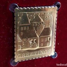 Francobolli: SELLO DE ORO 22.KT. CHRISTMAS 1986 - 25 X 21.MM. Lote 288508203