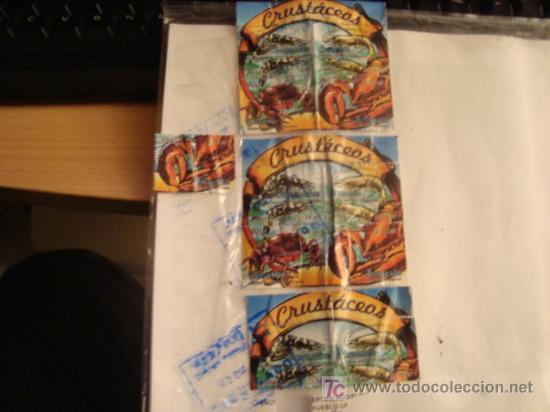 SELLOS DE PERU, COLECCION, CRUSTACEOS, S/10.00, SOLES, TODOS LOS DE LA FOTO (Sellos - Extranjero - América - República Dominicana)