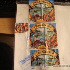 Sellos: SELLOS DE PERU, COLECCION, CRUSTACEOS, S/10.00, SOLES, TODOS LOS DE LA FOTO. Lote 17385803