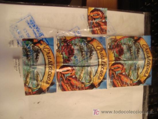 Sellos: sellos de peru, coleccion, crustaceos, s/10.00, soles, todos los de la foto - Foto 4 - 17385803