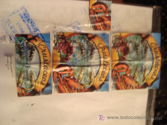Sellos: sellos de peru, coleccion, crustaceos, s/10.00, soles, todos los de la foto - Foto 2 - 17385803