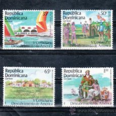 Sellos: REPUBLICA DOMINICANA 974A/D SIN CHARNELA, V CENTENARIO DEL DESCUBRIENTO DE AMERICA POR COLON . Lote 95957510