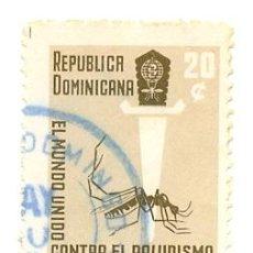 Sellos: 2REPDOM-567. SELLO USADO REP. DOMINICANA. YVERT Nº 567. PALUDISMO. Lote 38877951