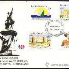 Sellos: R. DOMINICANA 1988 V CENTENARIO. Lote 29853747