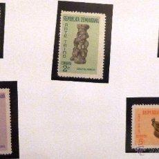 Sellos: SELLOS REPÙBLICA DOMINICANA 1969. NUEVOS.. Lote 215275171