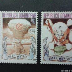 Sellos: SELLOS DE REPÙBLICA DOMINICANA. AMÉRICA UPAE. YVERT 1397/8. SERIE COMPLETA NUEVA SIN CHARNELA.. Lote 53478965