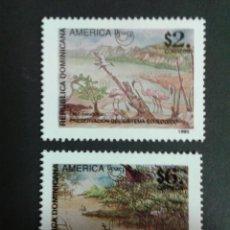 Sellos: SELLOS DE REPÙBLICA DOMINICANA. AMÉRICA UPAE. YVERT 1196/7. SERIE CTA. NUEVA SIN CHARNELA.. Lote 53478975