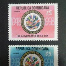 Sellos: SELLOS DE REPÙBLICA DOMINICANA. YVERT 1305/6. SERIE COMPLETA NUEVA SIN CHARNELA.. Lote 54297195
