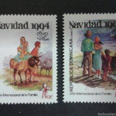 Sellos: SELLOS DE REPÙBLICA DOMINICANA AMÉRICA UPAEP. YVERT 1165/6. SERIE COMPLETA NUEVA SIN CHARNELA.. Lote 54297268
