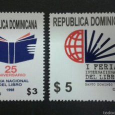 Sellos: SELLOS DE REPÙBLICA DOMINICANA. YVERT 1303/04. SERIE COMPLETA NUEVA SIN CHARNELA.. Lote 54297340