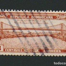 Sellos: REPÚBLICA DOMINICANA.1935.-3 CENTAVOS.YBERT 271.USADO. Lote 76638683