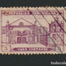 Sellos: REPÚBLICA DOMINICANA.1931.3 CENTAVOS.YBERT 239.USADO. Lote 76837691