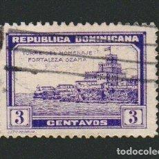 Sellos: REPÚBLICA DOMINICANA.1932.-3 CENTAVOS.YBERT 244.USADO. Lote 76837931