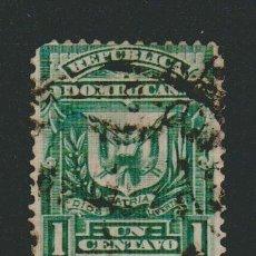 Sellos: REPÚBLICA DOMINICANA.1885-91.-1 CENTAVO.YVERT 61.USADO.. Lote 77236677