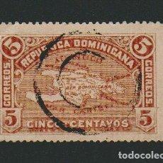 Sellos: REPÚBLICA DOMINICANA.1900.-5 CENTAVOS.YVERT 97.USADO. Lote 77237613