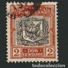 Sellos: REPÚBLICA DOMINICANA.1901.? -2 CENTAVOS.SELLO POR CLASIFICAR.USADO.. Lote 77241041