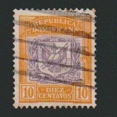 Sellos: REPÚBLICA DOMINICANA.1901. -10 CENTAVOS.YVERT 106.USADO.. Lote 77241245