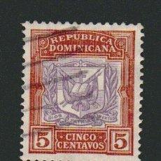 Sellos: REPÚBLICA DOMINICANA.1901. -5 CENTAVOS.YVERT 105.USADO.. Lote 77241385