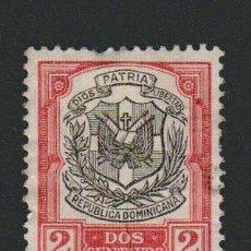 Sellos: REPÚBLICA DOMINICANA.1911-13- 2 CENTAVOS.YVERT 159.USADO.. Lote 77241841