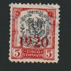 Sellos: REPÚBLICA DOMINICANA.HABILITADO 1920- 5 CENTAVOS.USADO.. Lote 77243761