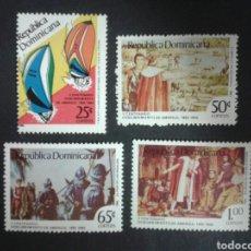 Sellos: SELLOS DE REPÚBLICA DOMINICANA. YVERT 1000/3. SERIE COMPLETA ***. DESCUBRIMIENTO DE AMÉRICA. COLÓN. . Lote 80160733