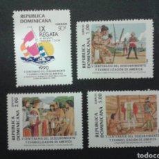 Sellos: SELLOS DE REP. DOMINICANA. YVERT 1083/6 A/D. SERIE COMPLETA . DESCUBRIMIENTO DE AMÉRICA. COLÓN.. Lote 80160897