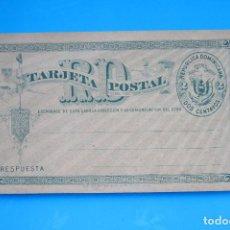 Sellos: REPUBLICA DOMINICANA: ENTERO POSTAL 1890, SIN CIRCULAR, TIPO LIBRITO, XF TC0095. Lote 85488924