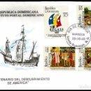 Sellos: R. DOMINICANA 1989 COLON V CENTENARIO. Lote 31142510