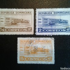 Sellos: REPÚBLICA DOMINICANA. YVERT 429/31. SERIE COMPLETA USADA.. Lote 86793416